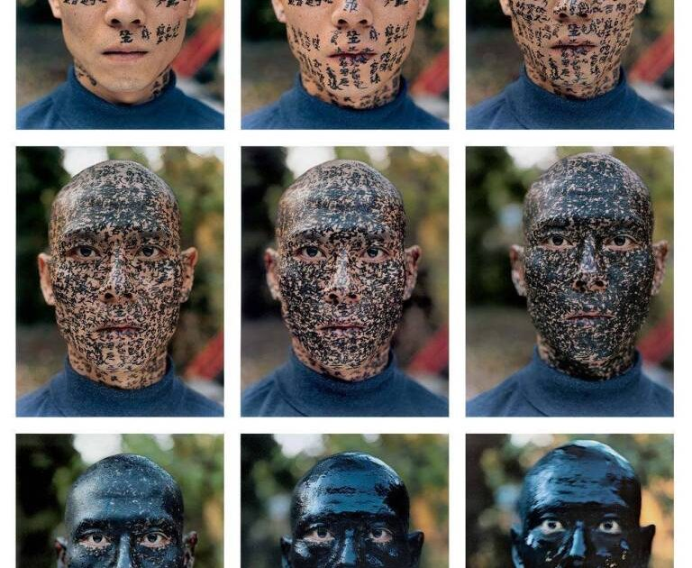 Zhang Huan is a artist born in 1965 in Anyang City, China