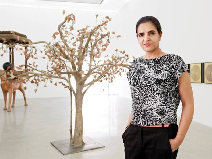 Bharti Kher. Photo: Courtesy the artist